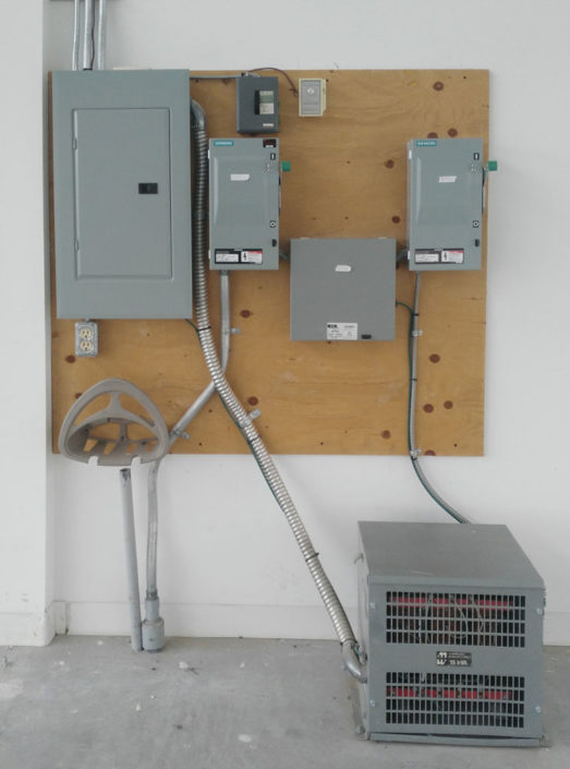 transformer and service panel in Brampton ontario