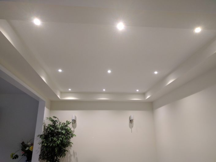 recessed lights in milton, ontario