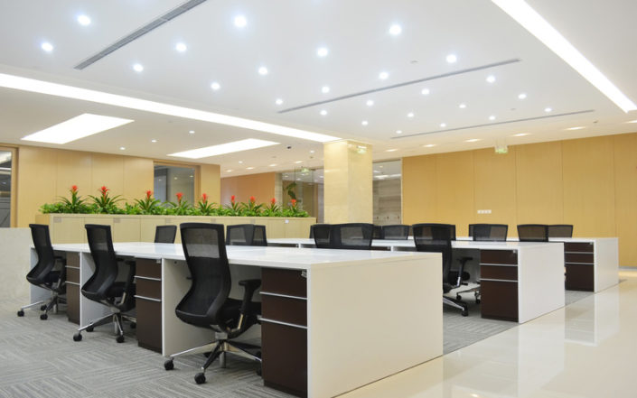 lighting design for office