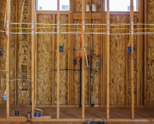 house wiring by licensed electrician