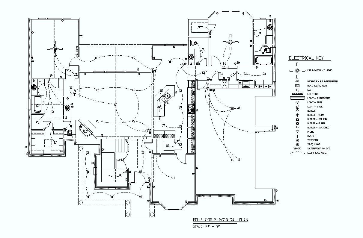 commercial electrical installation installation blueprint