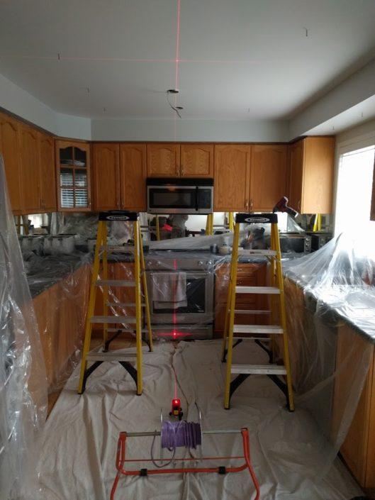 dust control clean kitchen in brampton ontario