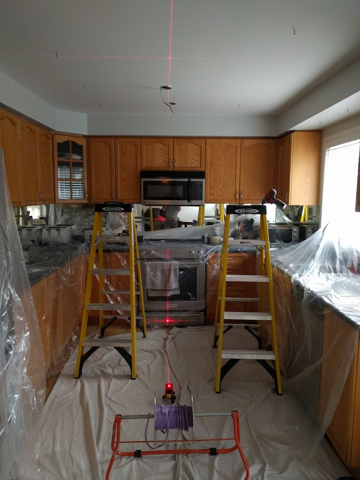 dust control clean kitchen in brampton ontario
