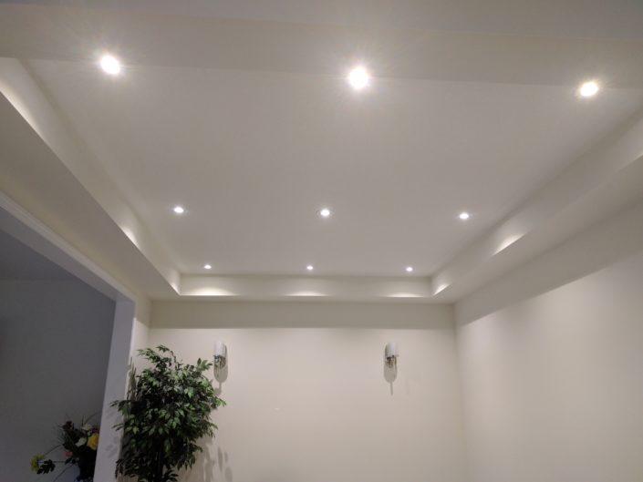 recessed lights in milton, ontario