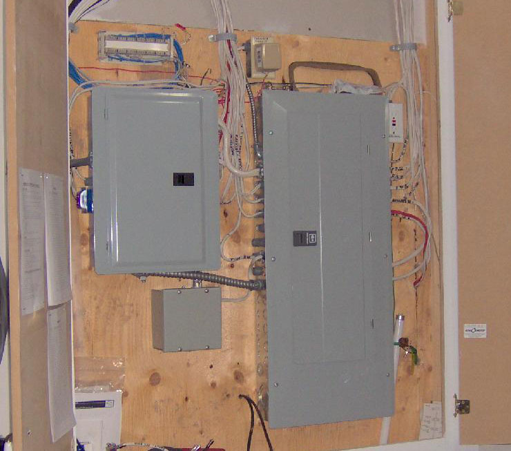 sub panel layout in misssissauga ontario
