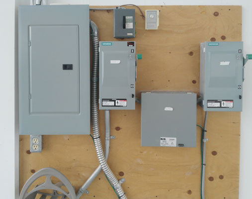 electrical penel commercial in misssissauga ontario